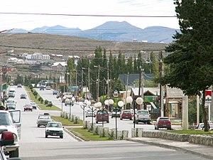 El Calafate - Image: Avenida del Libertador, El Calafate