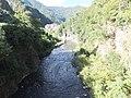 Avisio river from the bridge of Cantilaga - upstream 2.jpg