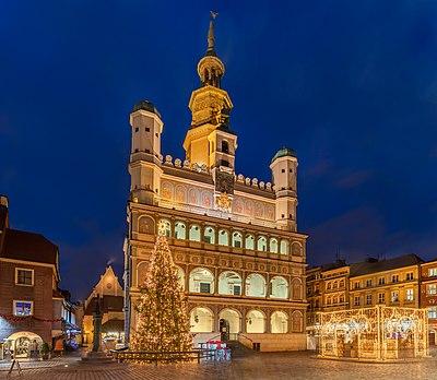 Poznań Town Hall, Poland.