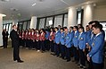 Azerbaijani athletes competing in Baku Chess Olympiad 4.jpg