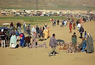 Azrou - Azrou market