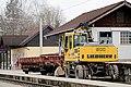 Bürmoos - Ort - Bahnhof Bürmoos Fahrzeug - 2014 12 06 - Wartungsfahrzeug 2.jpg