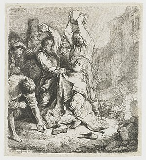 English: The stoning of St.Stephen