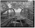 BARREL VIEW FROM S. - Kelley Crossing Bridge, Spanning Plum Creek at County Route 186, Lockhart, Caldwell County, TX HAER TX,28-LOCK.V,2-4.tif