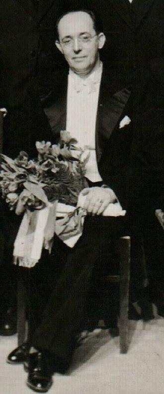 Jakov Gotovac - Jakov Gotovac with the National opera of Bulgaria, Sofia, 1940.