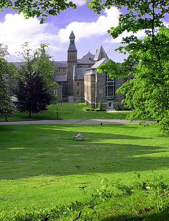 Saint John's Seminary (Massachusetts) - Grounds surrounding seminary