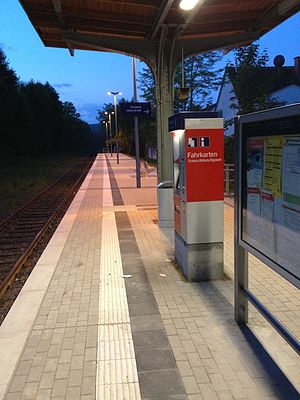Dortmund-Löttringhausen station - Image: BF Loettringhausen 2