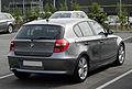 BMW 123d (E87, Facelift) – Heckansicht, 12. Juni 2011, Düsseldorf.jpg