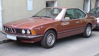 BMW 6 Series (E24) - BMW 633 CSi