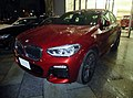 BMW X4 xDrive30i M Sport (CBA-UJ20) at night front.jpg