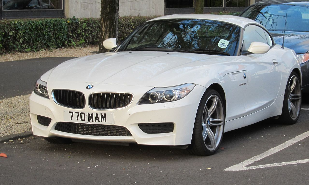 Файл Bmw Z4 Aka E89 Registered September 2012 1997cc Jpg