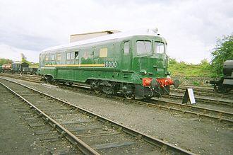 British Rail 18000 - British Rail 18000 at Didcot Railway Centre on 6 August 2011