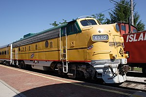 Boone and Scenic Valley Railroad - Image: BSVRR GMD FP9
