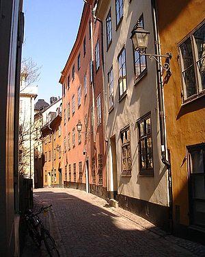 Baggensgatan - Image: Baggensgatan 17 19 070329