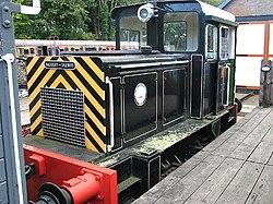 Baguley-Drewry shunter at Whitwell & Reepham railway (geograph 3154320).jpg