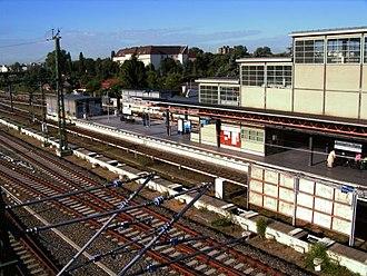 Berlin Bornholmer Straße station - Image: Bahnhof Bornholmer Strasse