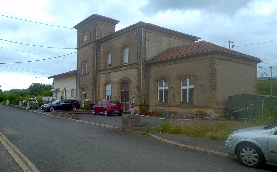 Bahnhof von Metzervisse, Lothringen