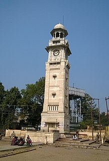 Bahraich City in India