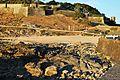 Baiona, Praia Cuncheira ao solpor.jpg