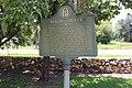 Baker County historical marker, Newton.jpg
