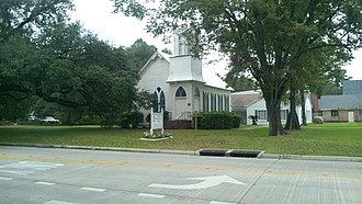 National Register of Historic Places listings in East Baton Rouge Parish, Louisiana - Image: Baker Presbyterian Church