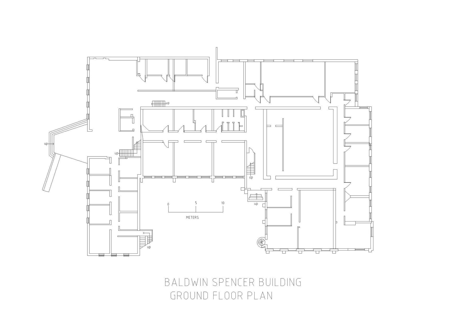 File baldwin spencer building melbourne university floor for Baldwin floor plan