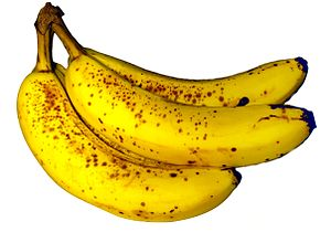 Photo of a market banana
