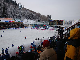 Team sport - Based on the number of participating athletes, bandy is the second most popular winter sport in the world