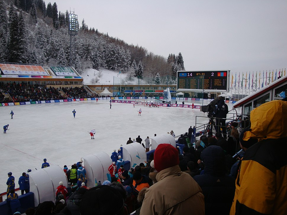 Bandy in Medeu Kazakhstan