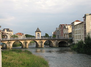 Ornain river in France