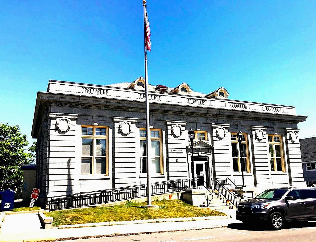 Bar Harbor Maine Post Office