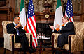 Barack Obama and Enda Kenny at Farmleigh.jpg