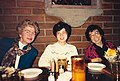 Barbara Paulson, Vickie Wang and Helen Ling from JPL, socializing over lunch.jpg