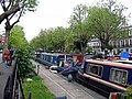 Barges on the Regent's Canal - geograph.org.uk - 1291544.jpg