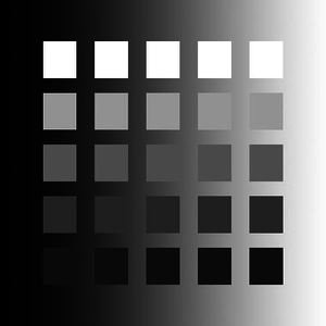 Color appearance model - Bartleson-Breneman effect