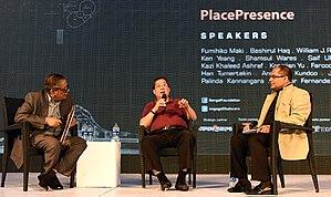 Bashirul Haq - Haq with Ken Yeang