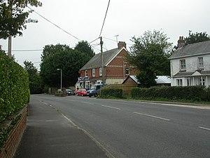 Bashley, Hampshire - Image: Bashley, post office & store geograph.org.uk 2066500