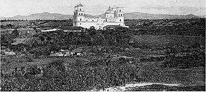 Esquipulas - Esquipulas Basílica in 1895.