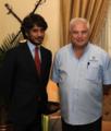 Basit Igtet & President Martinelli of Panama.png