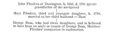 Bass family tree, p7 - The life of Captain Matthew Flinders, RN.png