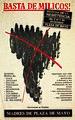 Basta de Milicos. Marcha de la resistencia.jpg