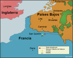 Batalla de San Quintín (1557)