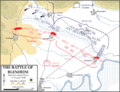 Battle of Blenhiem - Situation about noon, 13 August 1704.png