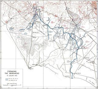 Battle of Cisterna battle during World War II