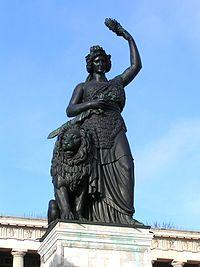 Bavaria statue in Munich.JPG