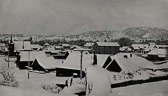 Bayfield, Colorado - Winter in Bayfield, ca. 1910