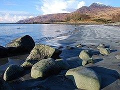 Beach at Lochbuie - geograph.org.uk - 1723170.jpg