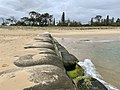 Beach erosion protection at Cotton Tree, Queensland 01.jpg