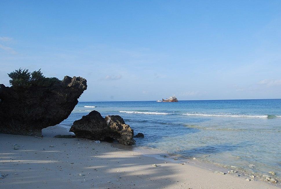 Beach in Balesin