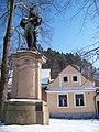 Bechyně, Zářečí, socha svatého Jana Nepomuckého.jpg